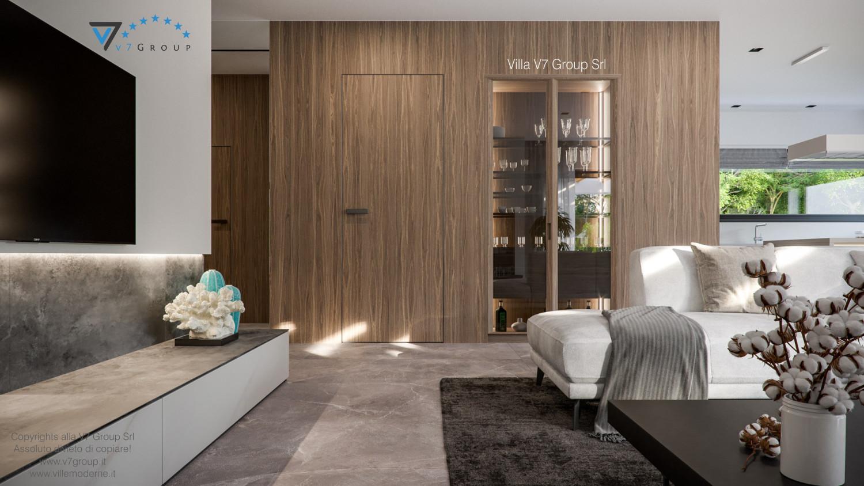 Immagine Villa V73 - interno 4 - corridoio e soggiorno grande