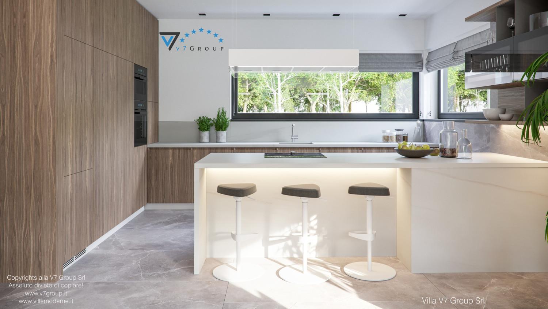 Immagine Villa V73 - interno 9 - la cucina in dettaglio grande