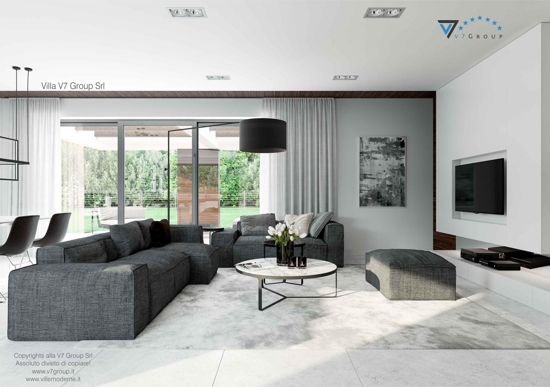 Immagine Villa V31 - aggioramento interni - immagine 3 - soggiorno e la tv grande