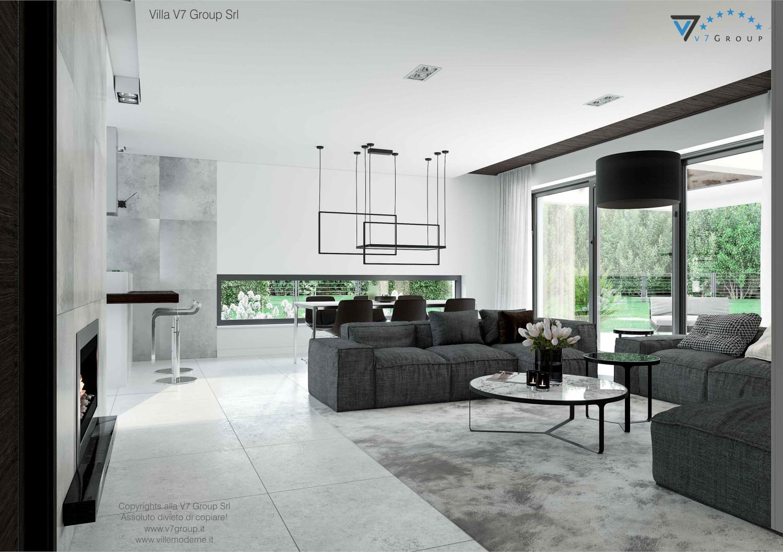 Immagine Villa V31 - aggioramento interni - immagine 4 - sala da pranzo grande