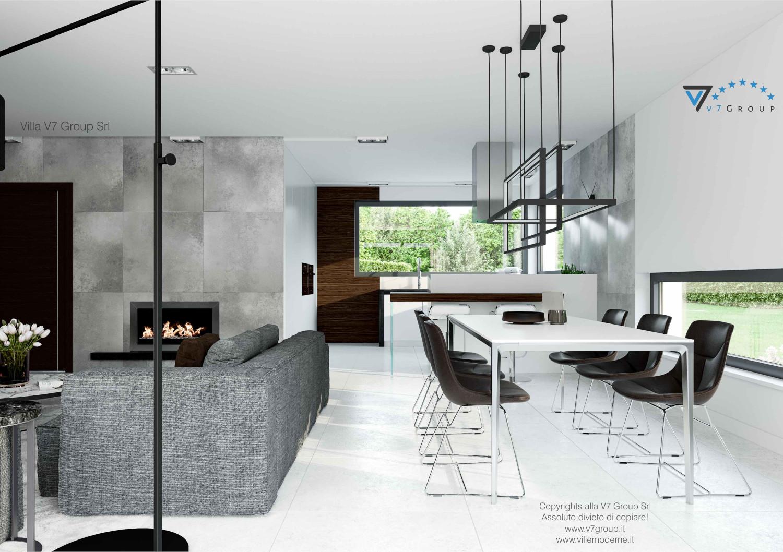 Immagine Villa V31 - aggioramento interni - immagine 5 - cucina e sala da pranzo grande