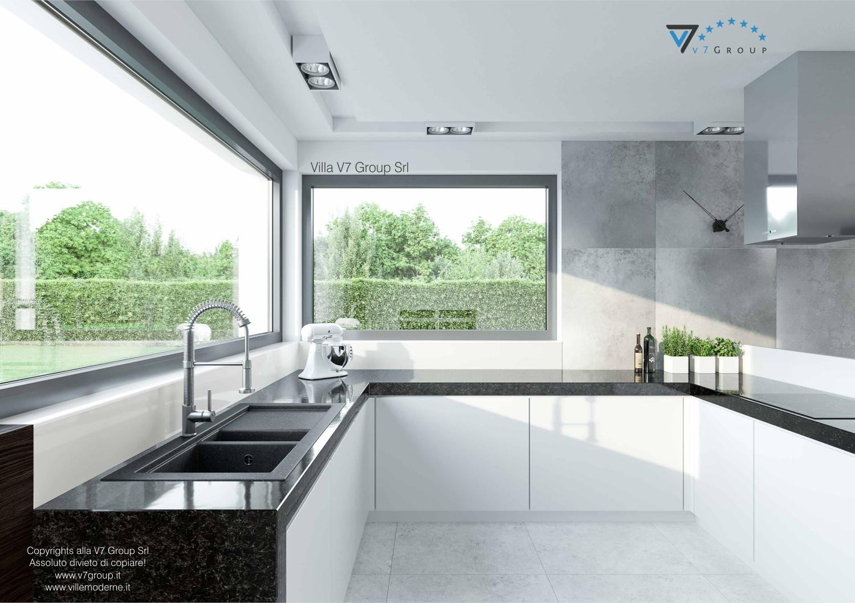 Immagine Villa V31 - aggioramento interni - immagine 9 - infissi in cucina grande
