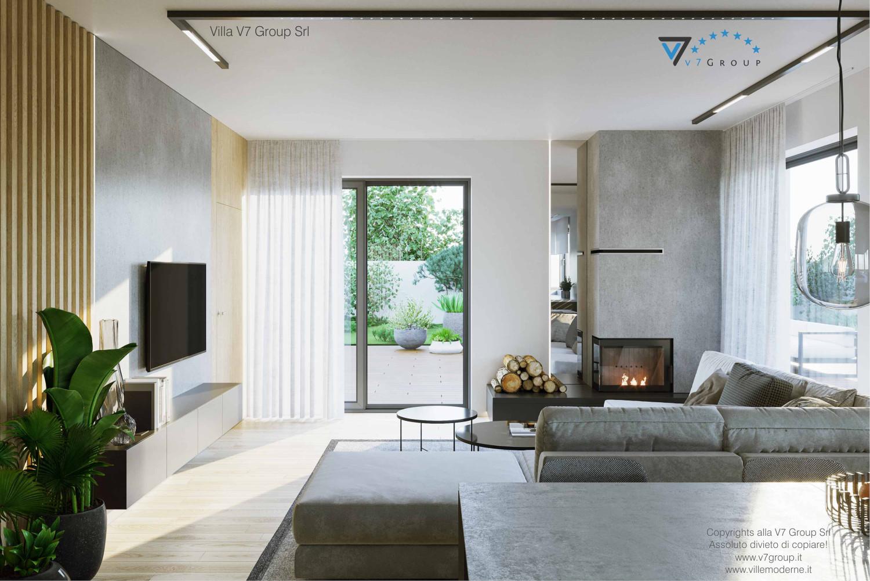 Immagine Villa V72 - interno 1 - vista soggiorno grande