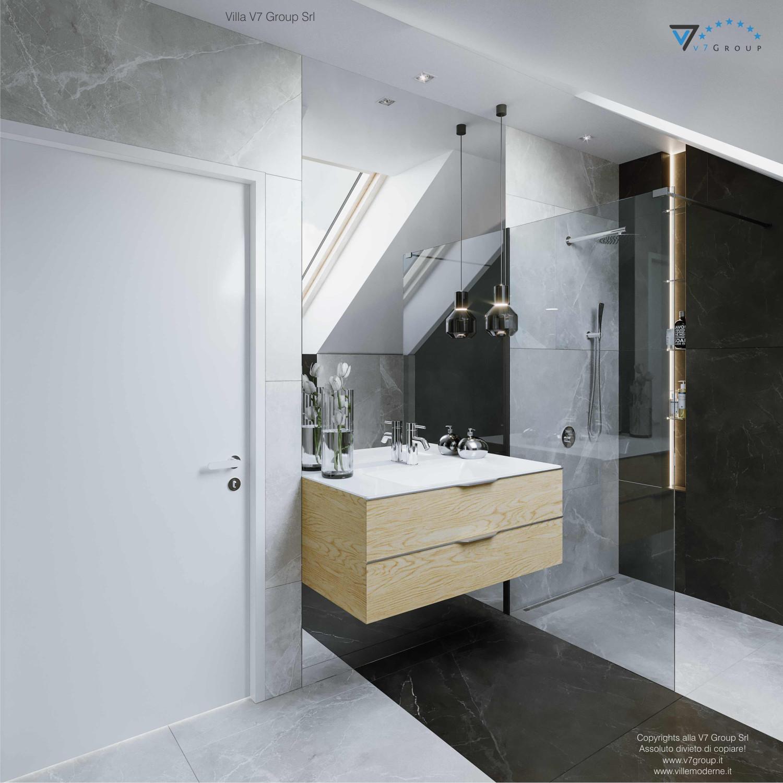 Immagine Villa V72 - interno 11 - vista specchio nel bagno grande