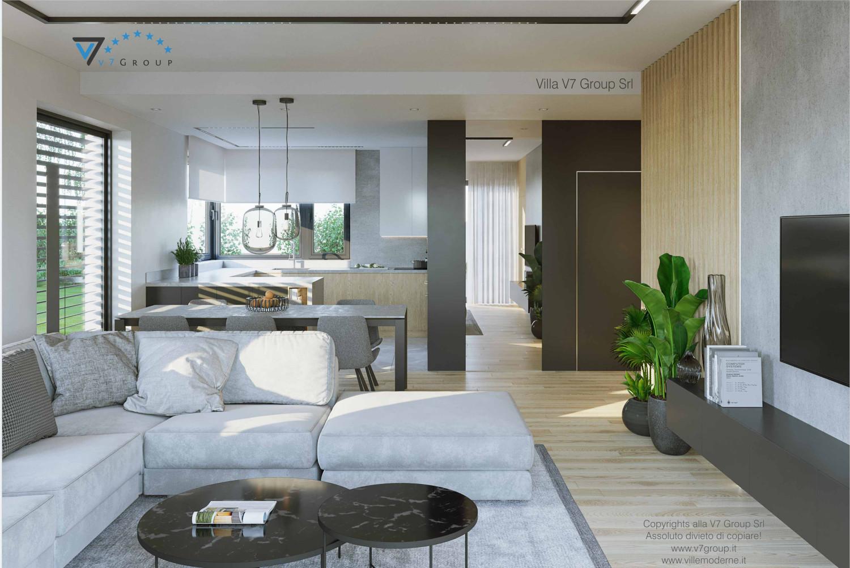 Villa v72 progetto originale ville di v7 group srl for Interni casa design