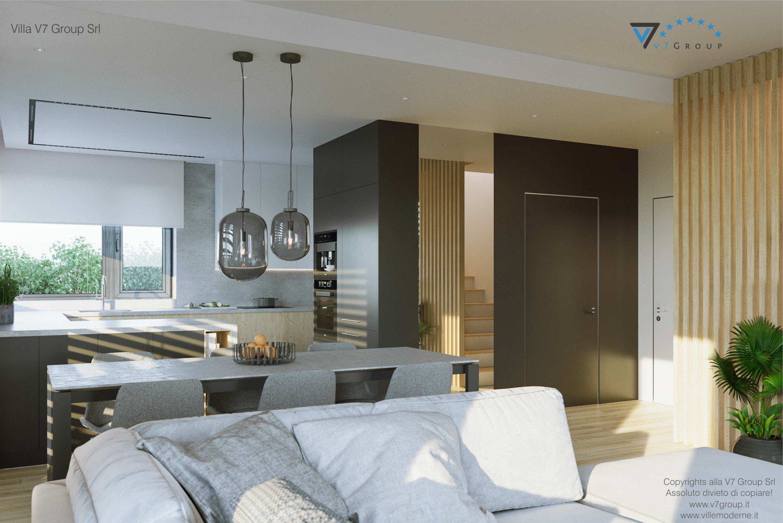 Immagine Villa V72 - interno 5 - vista design della cucina grande