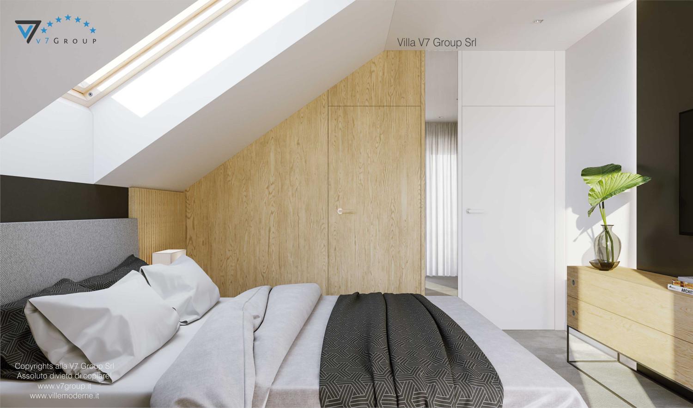 Immagine Villa V72 - interno 8 - vista letto matrimoniale grande