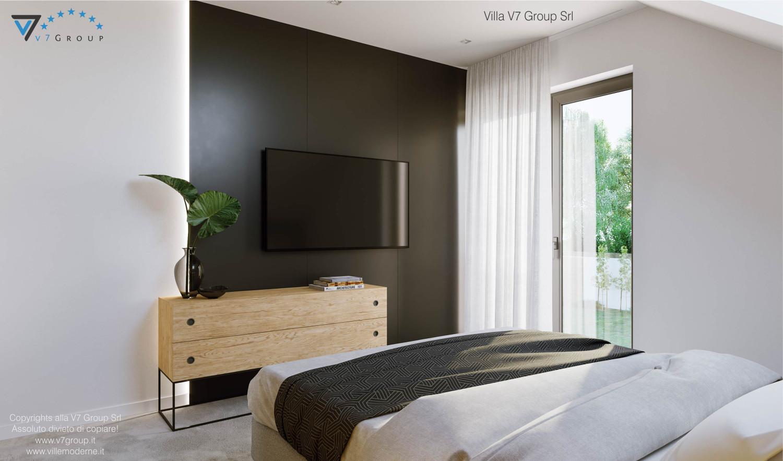 Immagine Villa V72 - interno 9 - vista tv nella camera matrimoniale grande