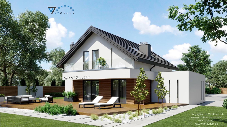 Immagine Villa V72 - vista giardino grande