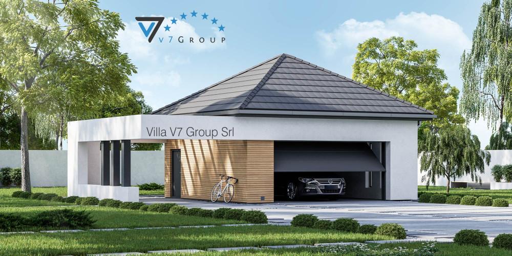 Immagine link Garage 02 (progetto originale) - vista giardino di Garage 01