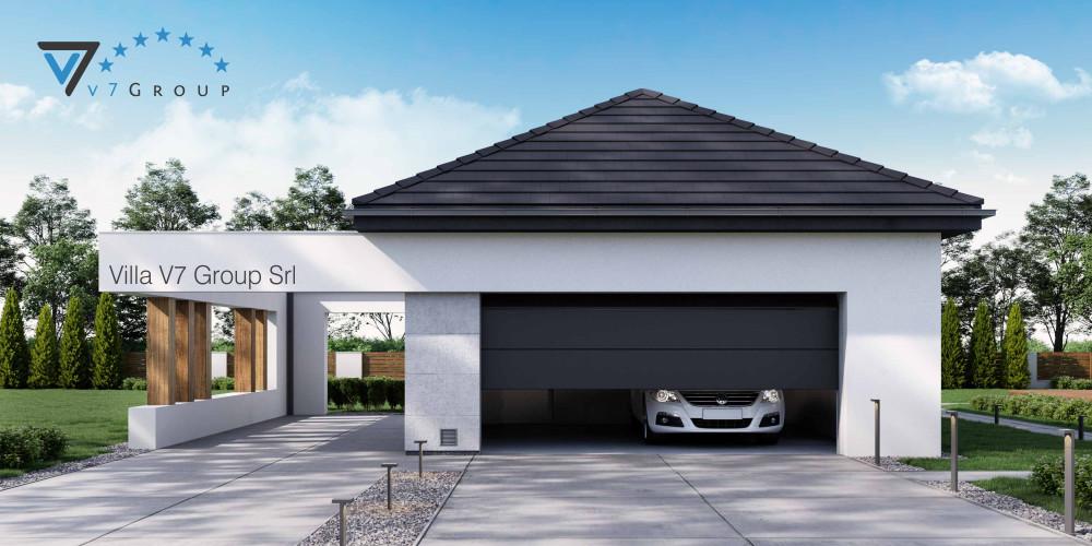 Immagine link Garage 01 (progetto originale) - vista giardino di Garage 02 V70