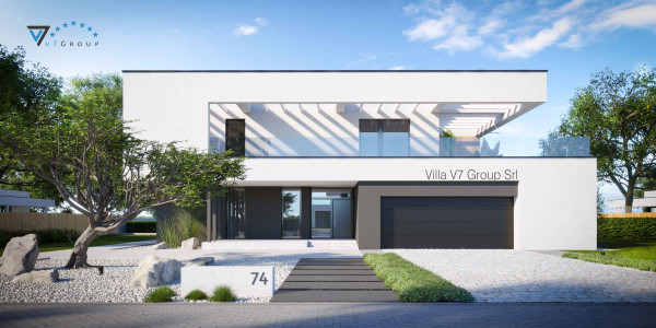 Immagine Ville di V7 Group Srl - la parte frontale di Villa V74