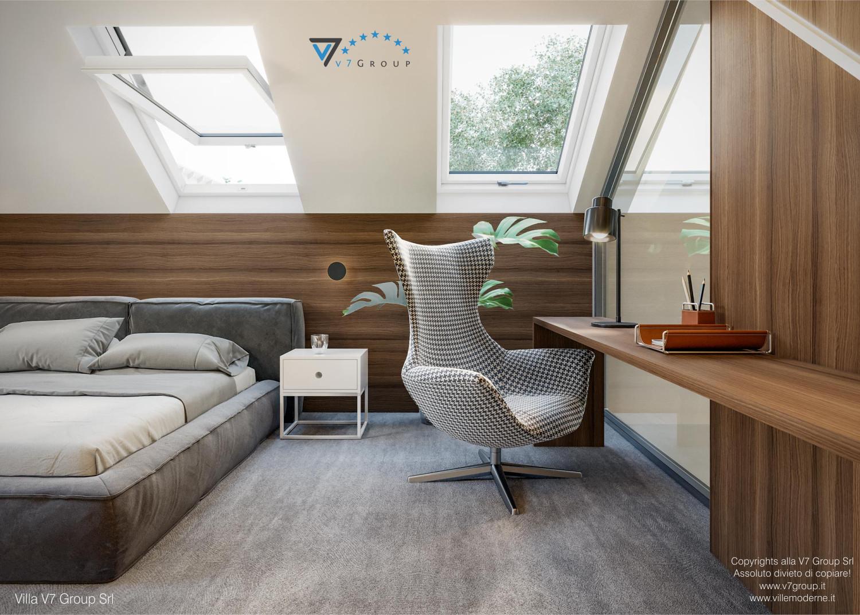 Immagine Villa V13 nowy - interno 12 - sedia nella camera matrimoniale