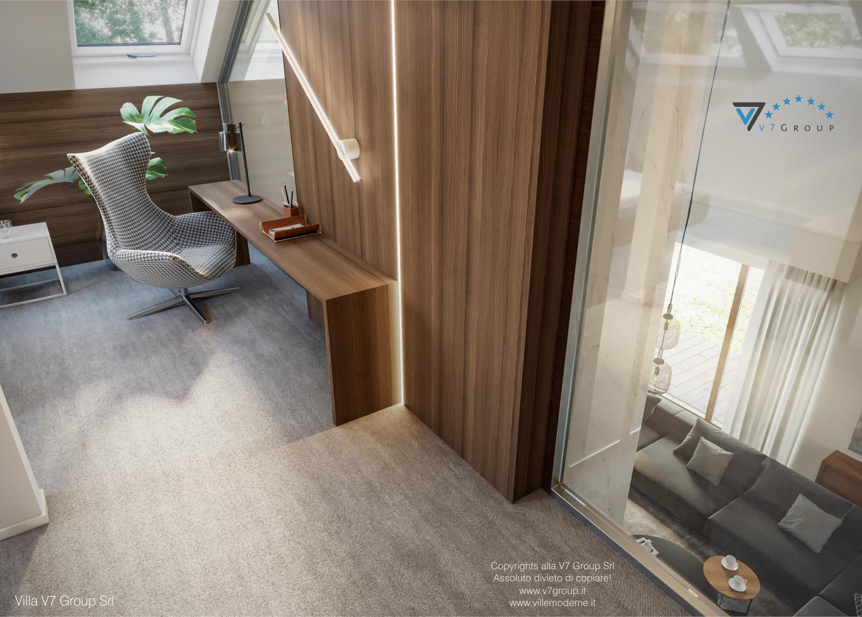 Immagine Villa V13 nowy - interno 13 - dettaglio della camera matrimoniale