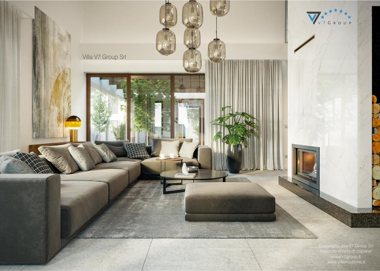 Immagine Villa V13 nowy - interno 2 - divano nel soggiorno grande