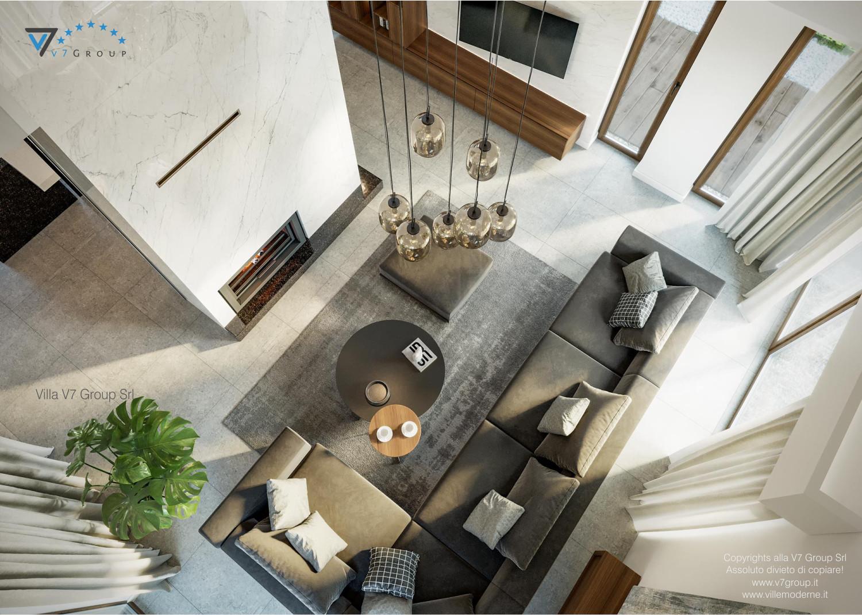 Immagine Villa V13 nowy - interno 5 - soggiorno dall'alto