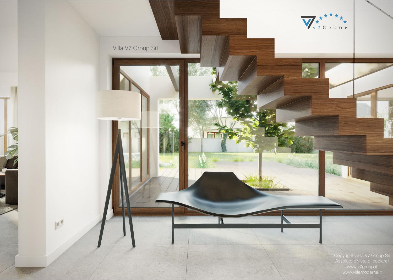 Immagine Villa V13 nowy - interno 8 - corridoio con scale