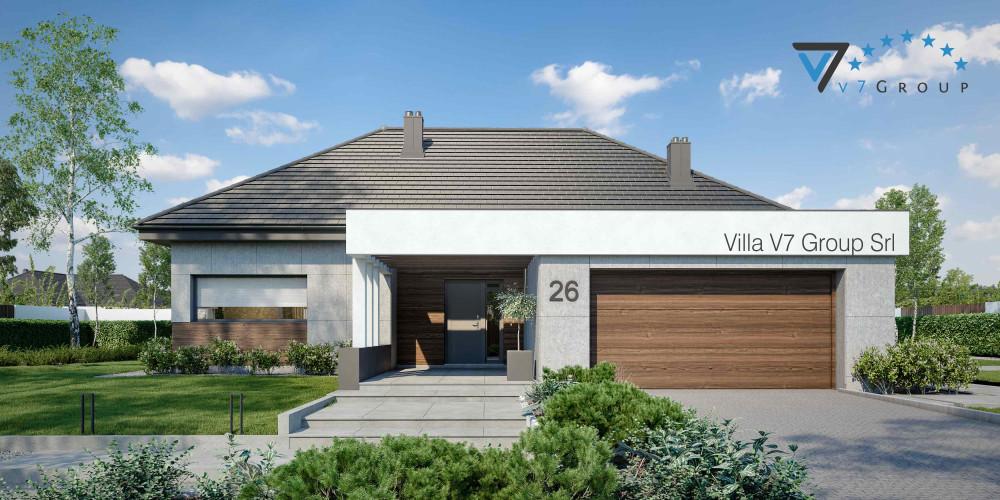 Immagine Villa V27 (progetto originale) - la presentazione di Villa V26