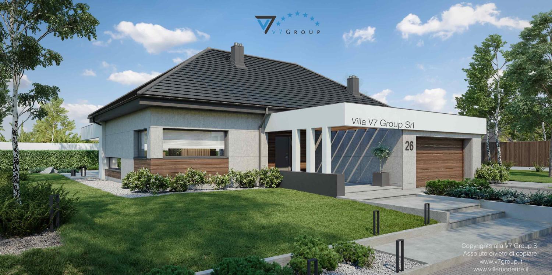 Immagine Villa V26 nowy - vista frontale laterale grande