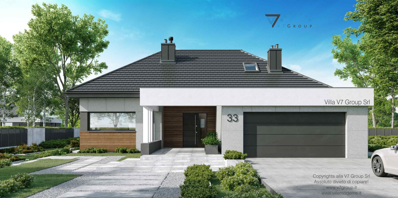 Immagine Villa V33 nowy - vista frontale grande