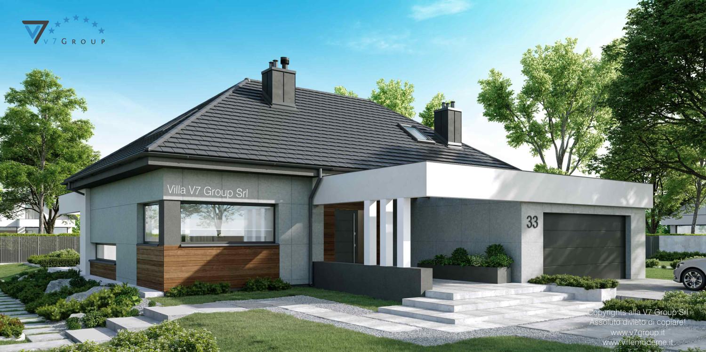 Immagine Villa V33 nowy - vista frontale laterale grande