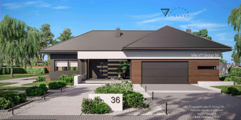 Immagine Villa V36 nowy - vista frontale grande