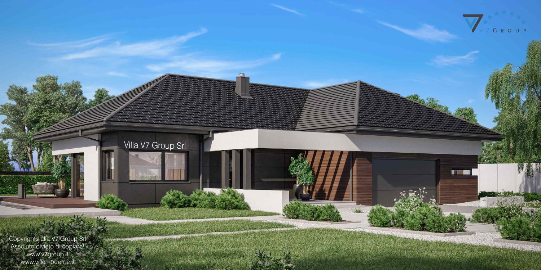 Immagine Villa V36 nowy - vista frontale laterale grande