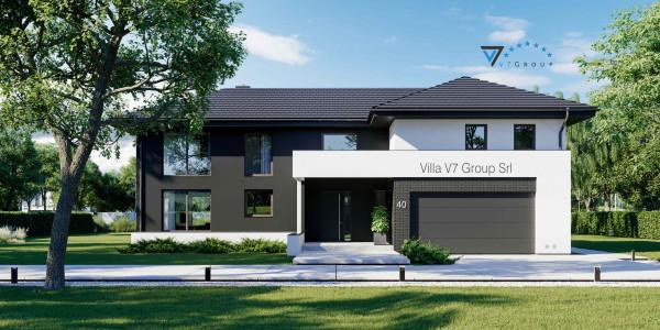 Immagine Nostre Ville - la parte frontale di Villa V40