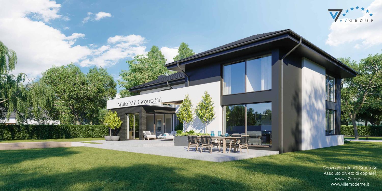 Immagine Villa V40 nowy - vista giardino in dettaglio grande