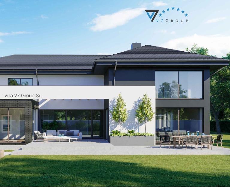 Immagine Villa V40 (progetto originale) - la piscina esterna ingrandita