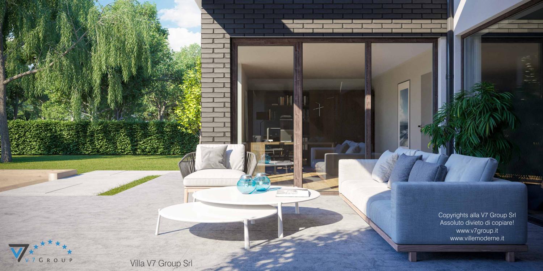 Immagine Villa V40 nowy - vista terrazzo esterno in dettaglio grande