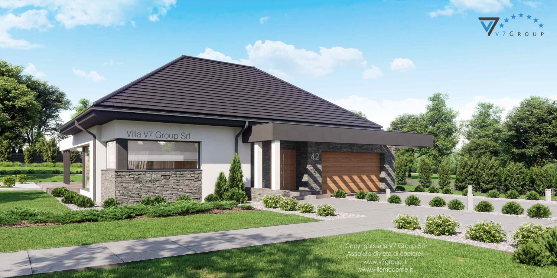 Immagine Villa V42 nowy - vista frontale laterale grande