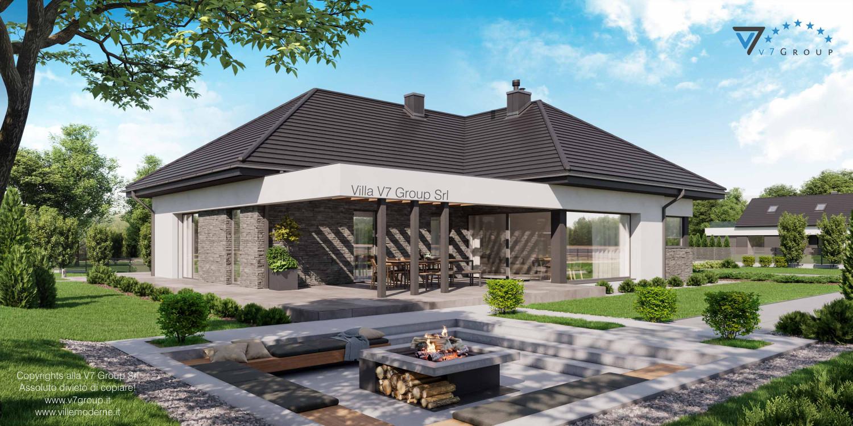 Immagine Villa V42 nowy - vista giardino grande