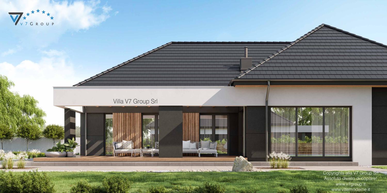 Immagine Villa V70 nowy - vista terrazzo esterno in dettaglio grande