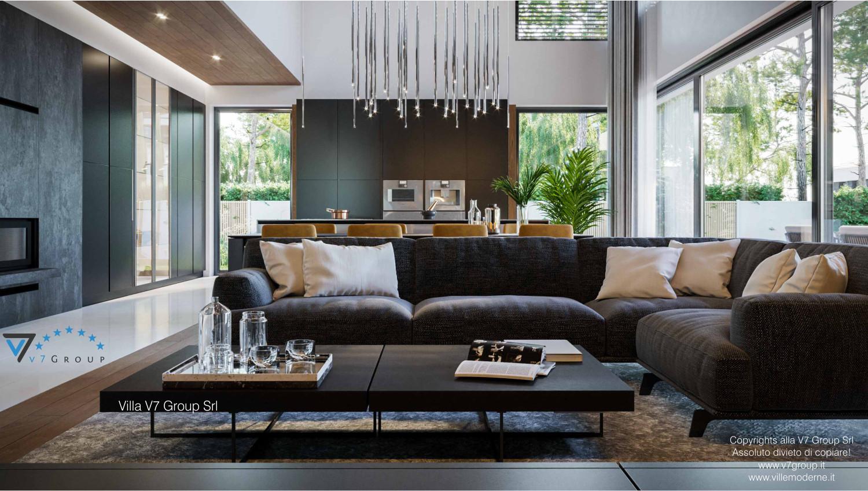 Immagine Villa V74 - interno 1 - soggiorno grande