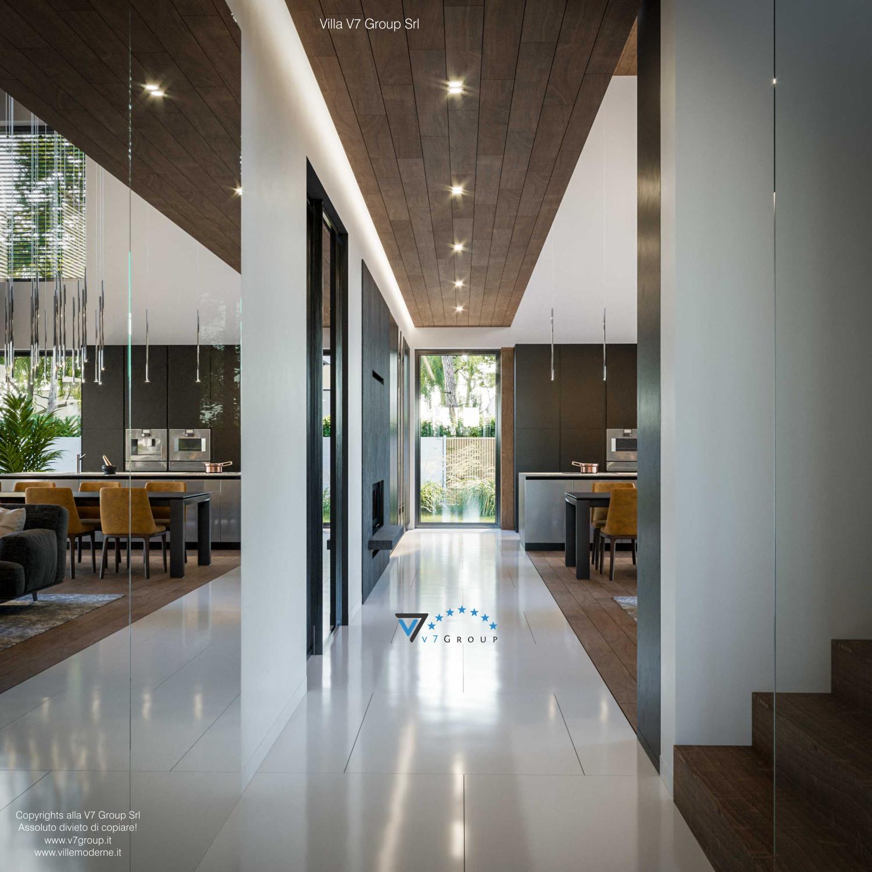 Immagine Villa V74 - interno 13 - corridoio in dettaglio