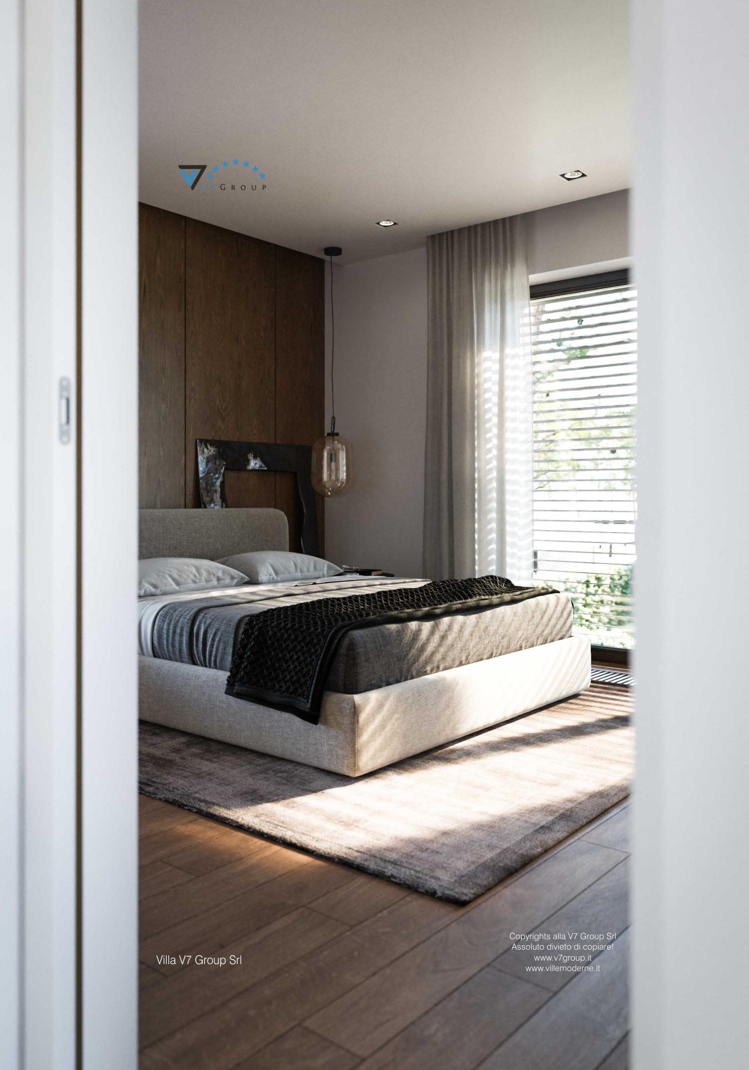 Immagine Villa V74 - interno 18 - letto matrimoniale in dettaglio - corretto