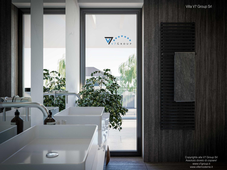 Immagine Villa V74 - interno 20 - lavandini in bagno