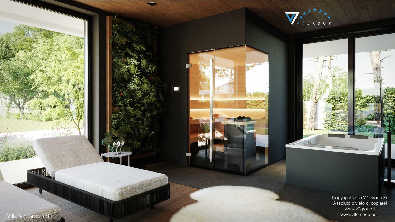 Immagine Villa V74 - interno 25 - sauna in dettaglio