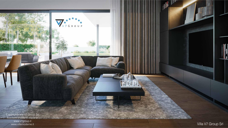 Immagine Villa V74 - interno 4 - tavolo nel soggiorno