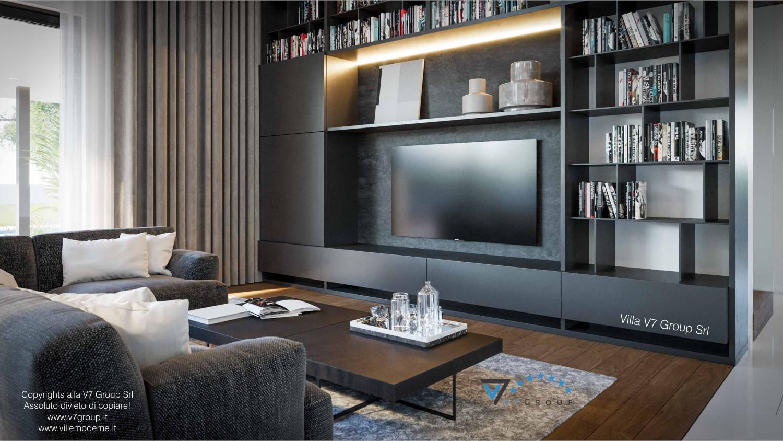 Immagine Villa V74 - interno 5 - tv nel soggiorno