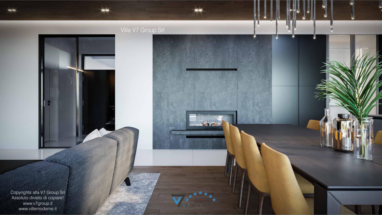 Immagine Villa V74 - interno 6 - camino nel soggiorno