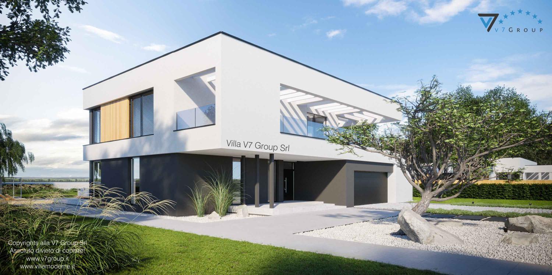 Immagine Villa V74 - vista laterale