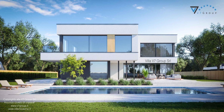 Immagine Villa V74 - vista piscina grande