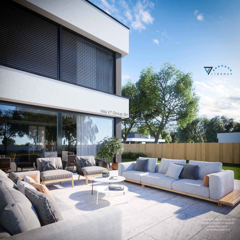 Immagine Villa V74 - vista terrazzo esterno dettagliato grande