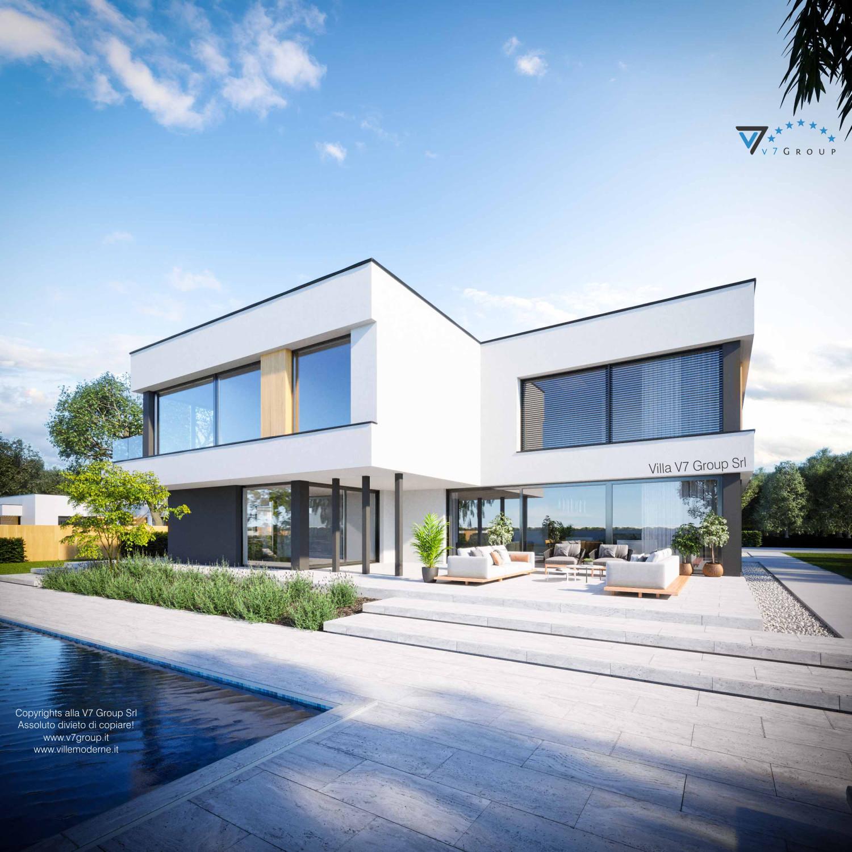 Immagine Villa V74 - vista terrazzo esterno grande