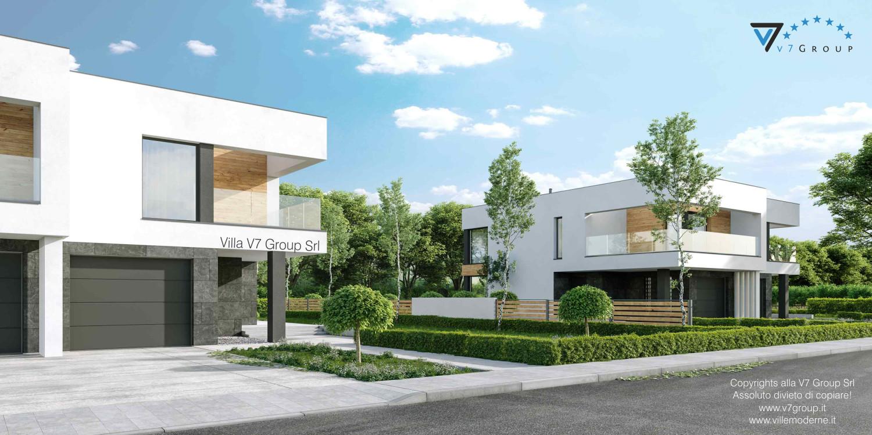 Immagine Villa V75 - vista della sistemazione esterna in dettaglio