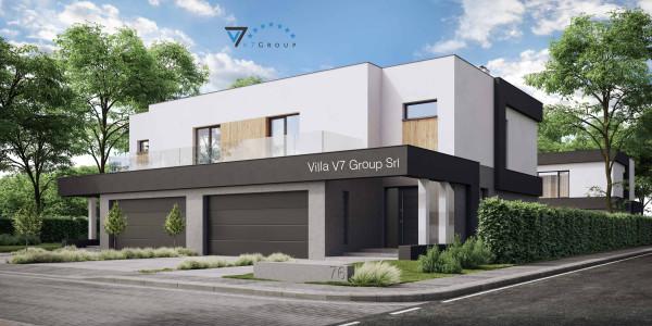 Immagine Ville di V7 Group Srl - la parte frontale di Villa V76 D