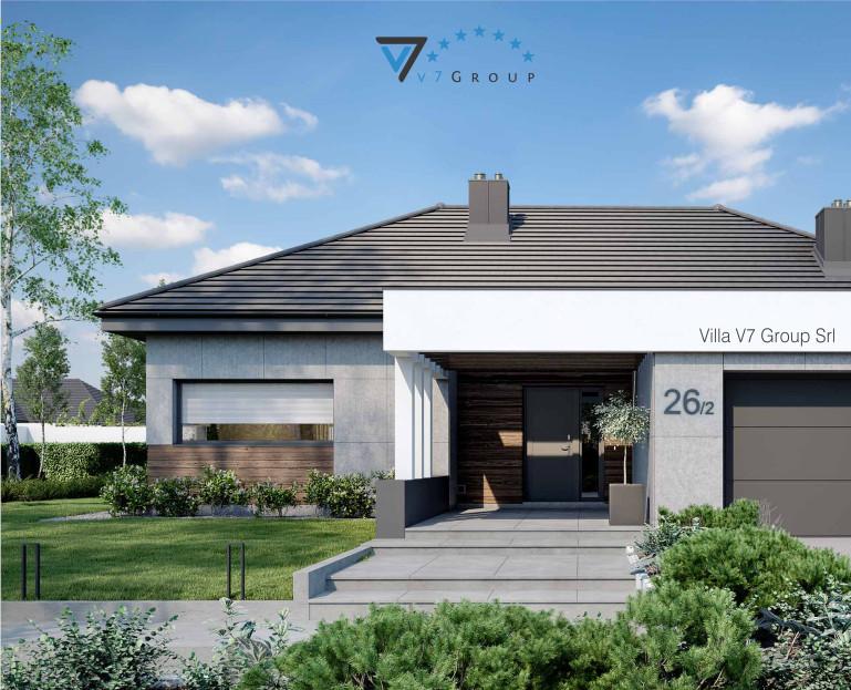 Immagine Villa V26, variante 2 - baner di piccole dimensioni