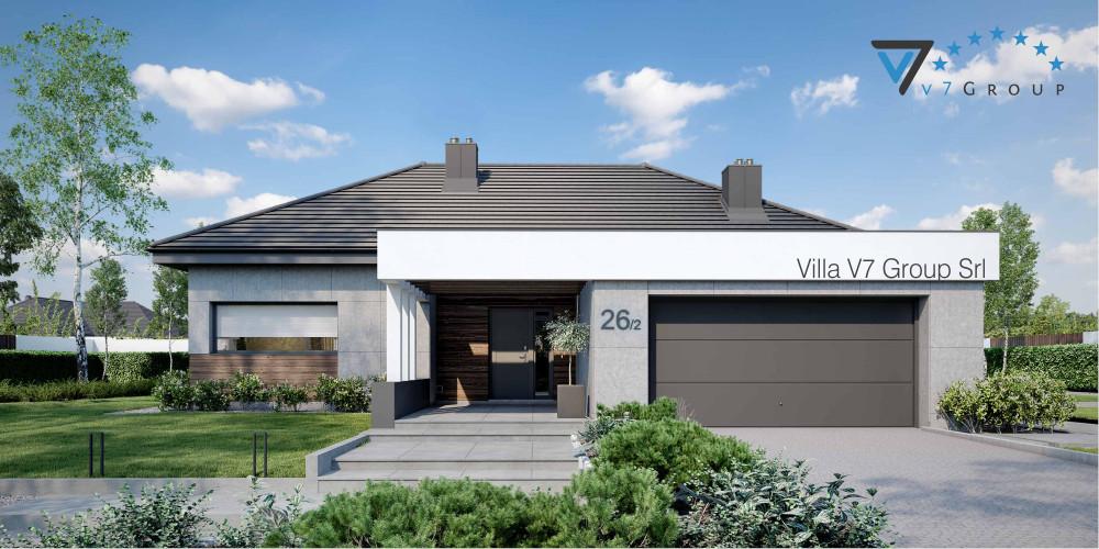 Immagine Villa V26 - variante 6 - la presentazione di Villa V26 - variante 2
